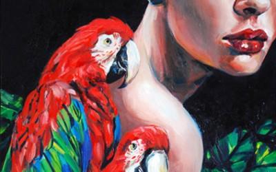 pair_of_parrots_40cmx50cm