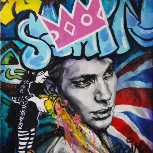 Mash #1 Oil on Canvas. 2012. 40cm X 51cm. Gavin Brown
