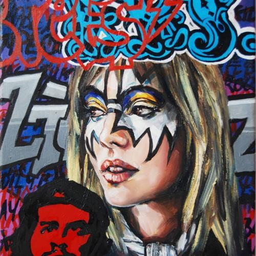 Mash #16 Oil on Canvas. 2012. 40cm X 51cm. Gavin Brown
