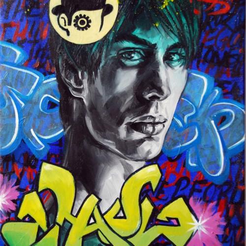 Mash #22 Oil on Canvas. 2012. 40cm X 51cm. Gavin Brown
