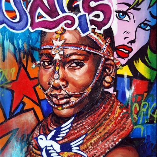 Mash #23 Oil on Canvas. 2012. 40cm X 51cm. Gavin Brown