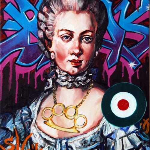 Mash #3 Oil on Canvas. 2012. 40cm X 51cm. Gavin Brown.
