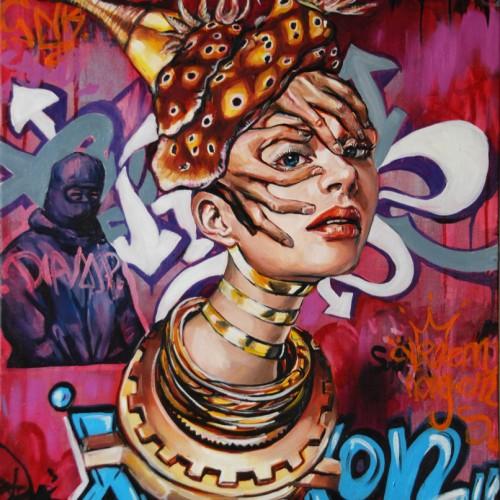 Spirit of Arete_oil on canvas_Gavin Brown_61cmx76cm_2012