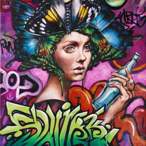 Spirit of Hypnos_oil on canvas_Gavin Brown_61cmx76cm_2012