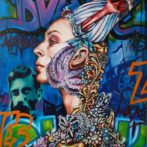 Spirit of Nemesis. Oil on Canvas. 2013. 61cm X 76cm