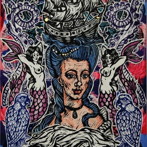 Madame-de-Mer.76-X-51.InkOil-on-Canvas.2015.gavin-Brown