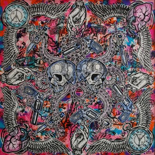 Octopus.122-x-122.2015.InkOil-on-Canvas.Gavin-Brown