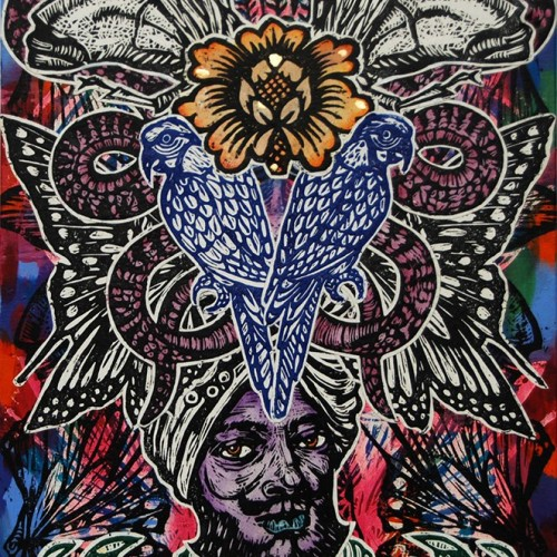 Raj.76-X-51.2014.InkOil-on-Canvas.Gavin-Brown