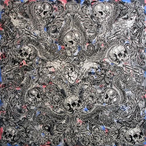 Sacre-Coeur.183-X-183.2015.InkOil-on-Canvas.Gavin-Brown