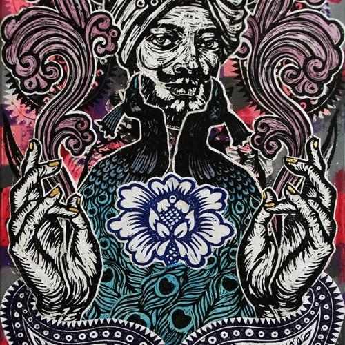 Sorcerer.76-X-51.2015.InkOil-on-Canvas.Gavin-Brown