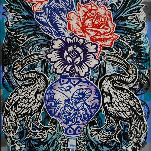 Vase.76-X-51.2015.InkOil-on-Canvas.Gavin-Brown