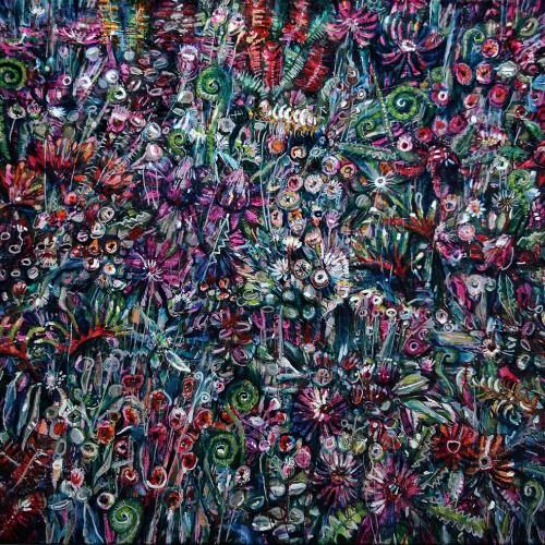 Field of Flowers_1000x1000_2017_Oil on canvas_Gavin Brown