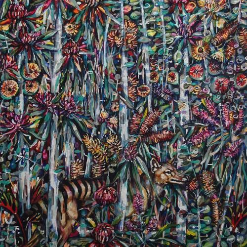 Thylacine_1220x1520_2017_Oil on canvas_Gavin Brown