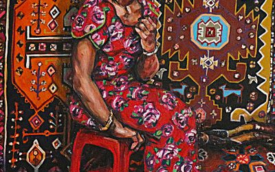 Market Girl 1_oil on canvas_92cmx122cm