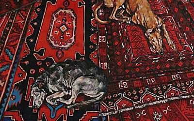 Street Dogs 1_oil on canvas_122cmx92cm