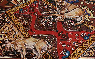 Street Dogs 5_oil on canvas_122cmx92cm.JPG