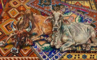 Holy Cow_oil on canvas